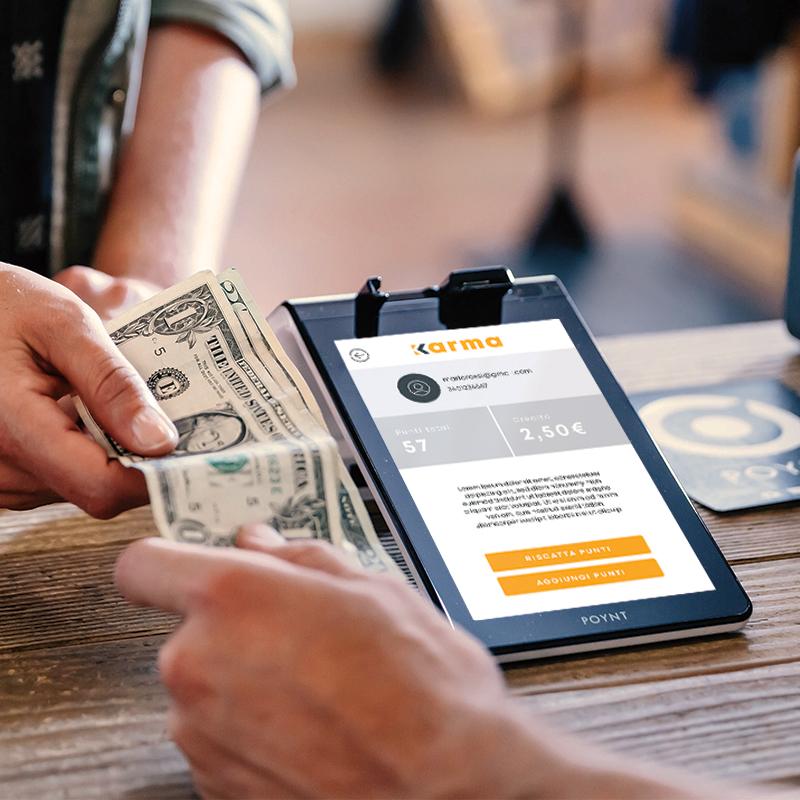 Karma SmartPos payment - Crispy Bacon